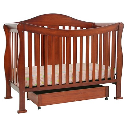 DaVinci Parker 4-in-1 Convertible Crib with Toddler Rail in Cherry