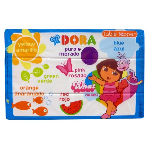 Neat Solutions Stick-on Place Mats (50pk)- Dora the Explorer