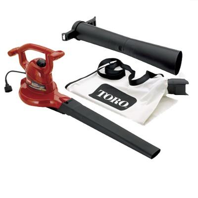 Toro 235-MPH Ultra Blower Vac - Red