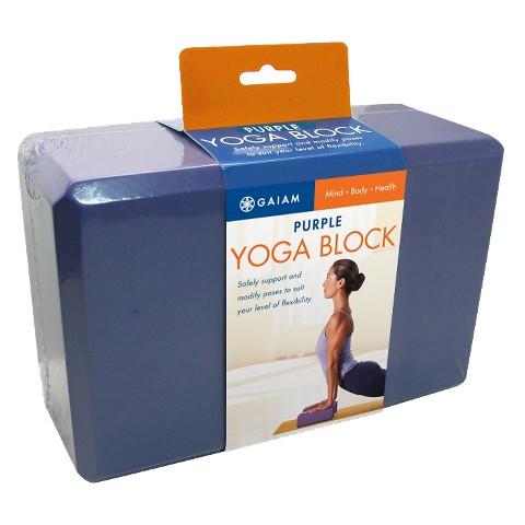 Gaiam Purple Yoga Block