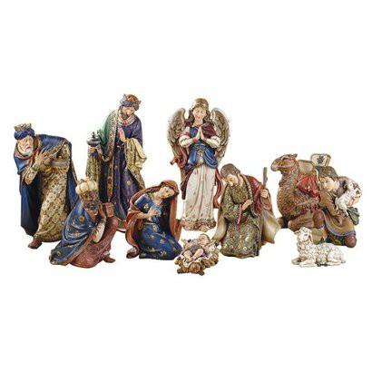Ornate 10-pc. Nativity Set