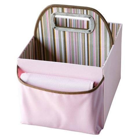 JJ Cole Stripe Diaper Caddy