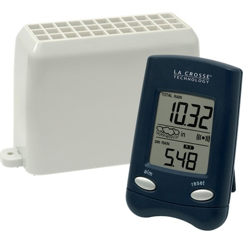 Wireless Rain Gauge Black WS-9004U-IT-CBP