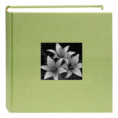 Cloth Photo Album with Frame - 9x9""