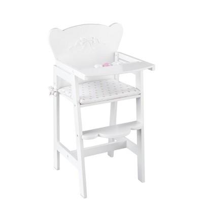 KidKraft Tiffany Doll Highchair - White
