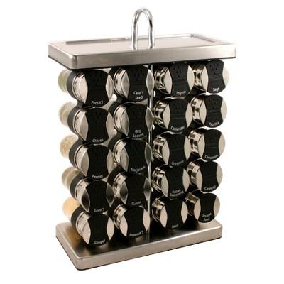 Olde Thompson 20-Jar Wine Rack Spice Rack