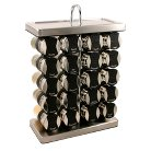 Olde Thompson 20-Jar Wine Rack Spice Rack
