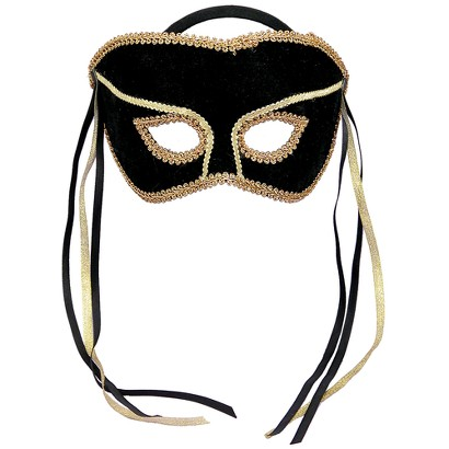 Couples Mask - Black