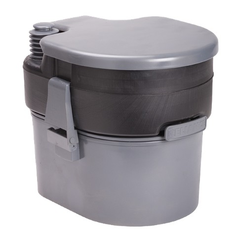 Reliance FlushLoo Flushing Portable Toilet - Gray
