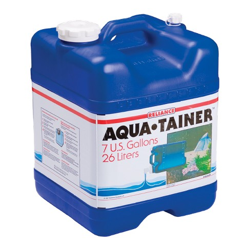 Reliance 7-gal. Aqua-Tainer - Blue