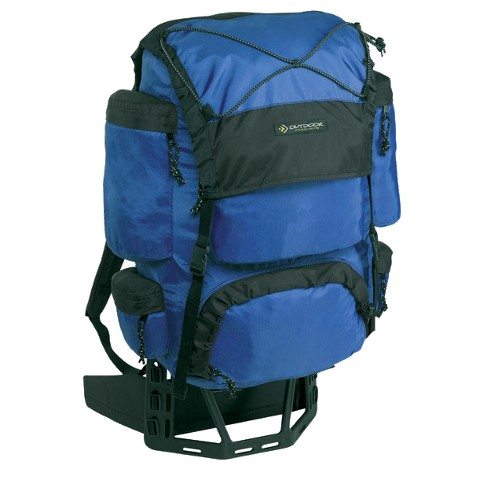 Outdoor Products Dragonfly External Frame Pack - Cobalt