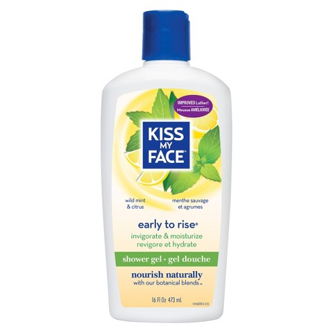Kiss My Face Early to Rise Shower Gel - 16 oz
