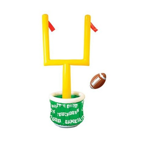 Inflatable Football Goal Post Cooler with Inflatable Football