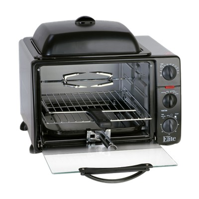 Elite Professional Jumbo Toaster Oven Broiler - 23L