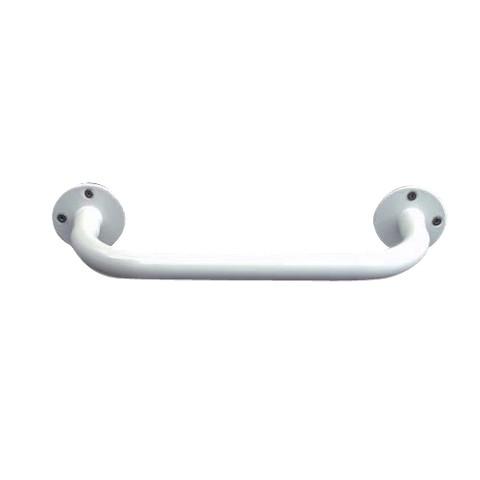 Mabis Vinyl-Coated Steel Grab Bar - White (12'')