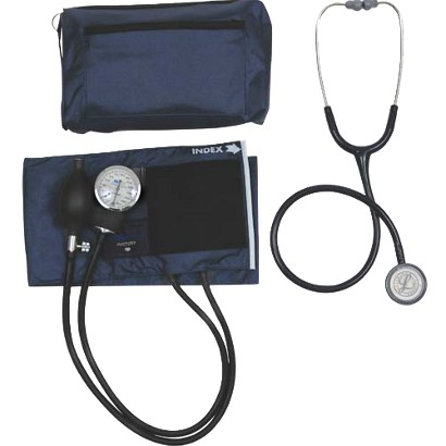 Mabis Match Mates Combination Kit with Littmann Classic Stethoscope - Navy Blue