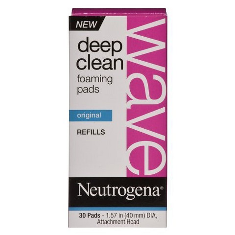 Neutrogena Wave Deep Clean Foaming Refill Pads
