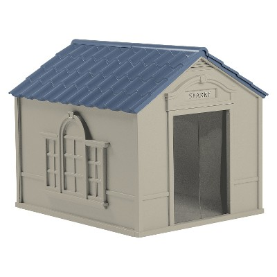 Suncast Deluxe Doghouse - Large