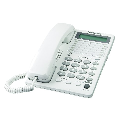 Panasonic KX-TS108WH Corded Telephone - White