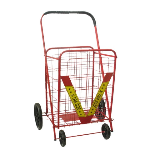 ATHome® XL Wheeled Cart - Red