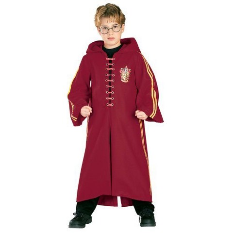 Harry Potter Kids' Quidditch Robe Deluxe Costume
