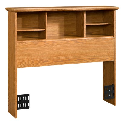 Sauder Orchard Hills Bookcase Headboard - Carolina Oak (Twin)