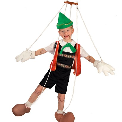 Boy's Pinocchio Costume