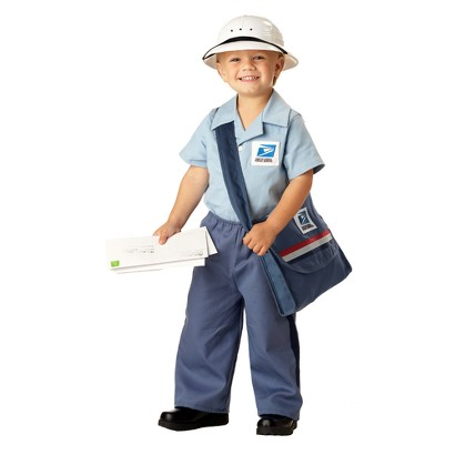 Toddler Post Office Delivery Costume 2T-4T