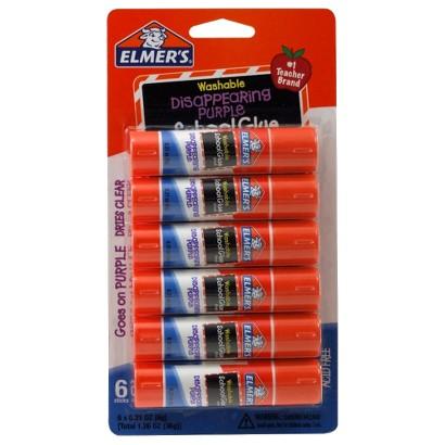Elmers 6ct Glue Stick 1.26oz
