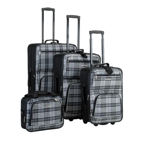 Rockland 4pc Luggage Set