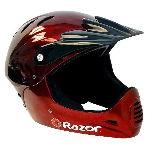 Razor Full Face Youth Helmet Black Cherry