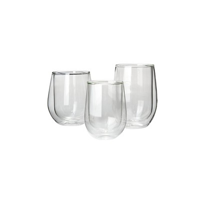 The Wine Enthusiast Steady Double-Walled Collection