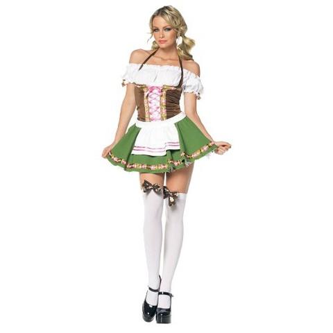 Women's Saucy Beer Maiden Costume