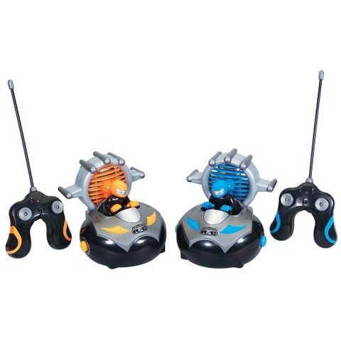 Kid Galaxy Interactive Radio-Controlled Bumper Car Set