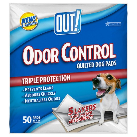 OUT! Pet Care Dog Housetraining Pads 50-pk. - 21x23""