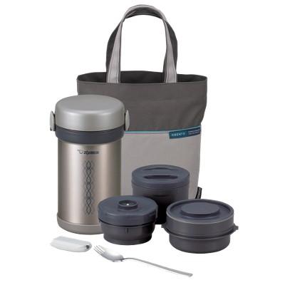 Zojirushi Ms. Bento Stainless Steel Lunch Jar Set