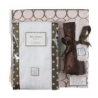 SwaddleDesigns Boxed Gift Set - Pink Mod Circles