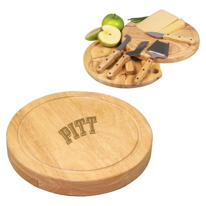 Pittsburgh Panthers Round Cheese Board