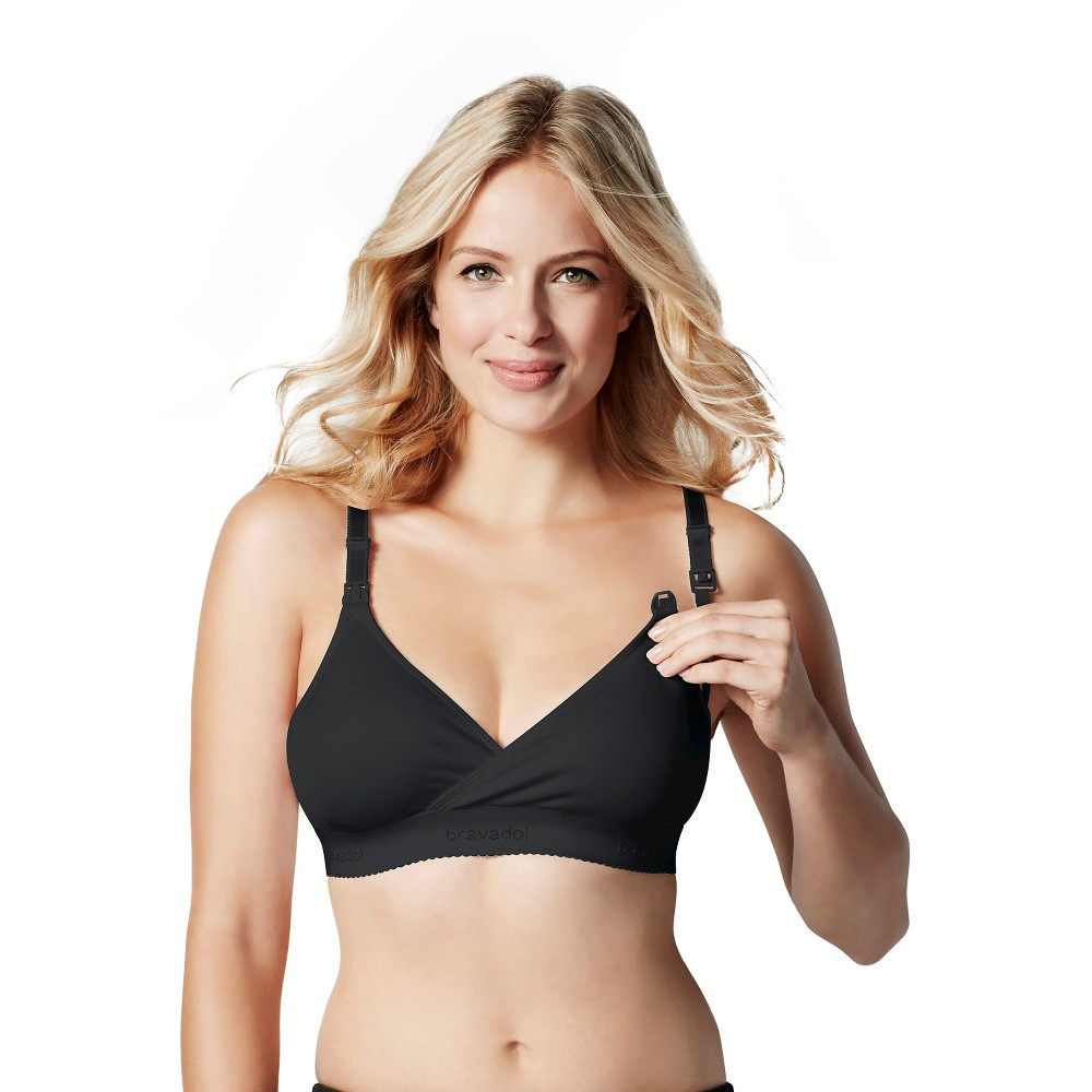 Bravado! Designs Women's Original Nursing Bra Black,  Size: S plus size,  plus size fashion plus size appare