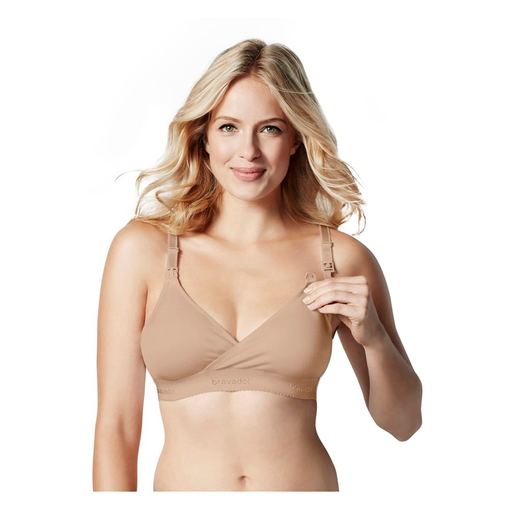 Bravado! Designs Women's Original Nursing Bra Butterscotch,  Size: L plus size,  plus size fashion plus size appare