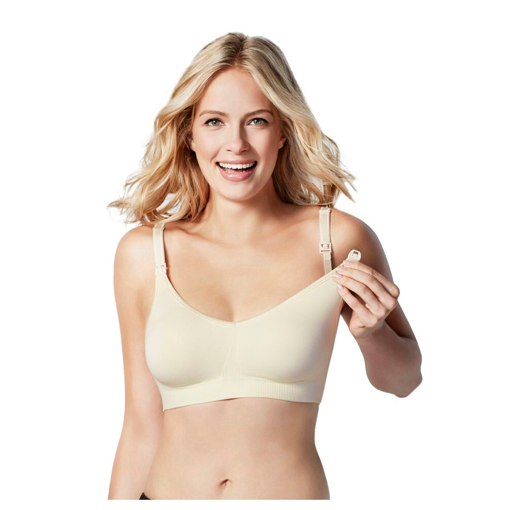 Bravado! Designs Women's Body Silk Seamless Nursing Bra - Ivory M plus size,  plus size fashion plus size appare