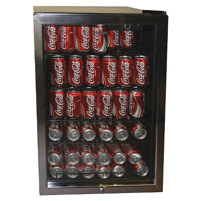 Haier 150-Can Beverage Center - Black HBCN05FVS