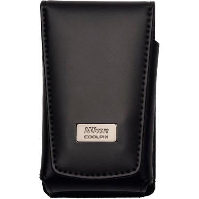 Nikon Coolpix Deluxe Leather Case - Black (5811)
