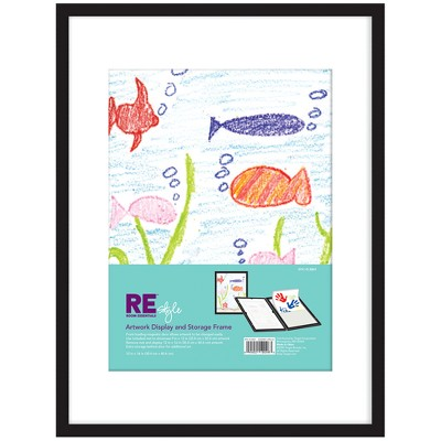 "Kid's Artwork Display Frame 12""x16"" Black - Room Essentials™"