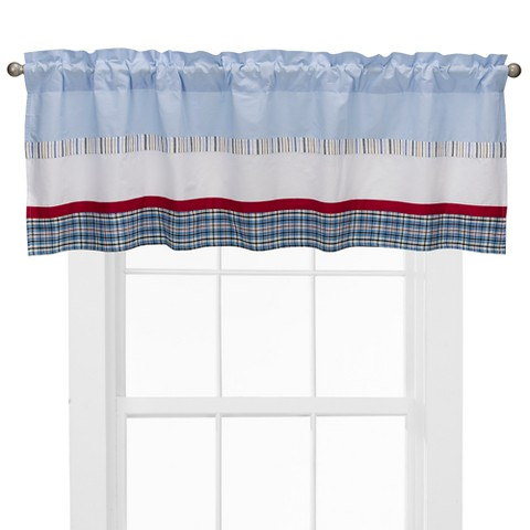 "Bacati Window Valance 58""x18"" - Aidan"