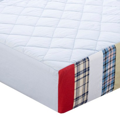 Aidan Quilted Changing Pad Cover