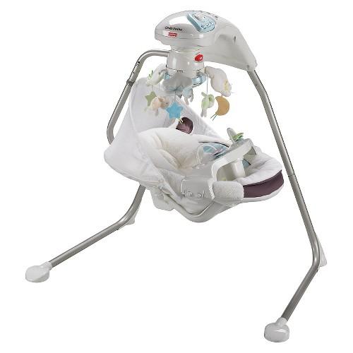 Fisher Price My Little Lamb Cradle 39 N Swing Ebay