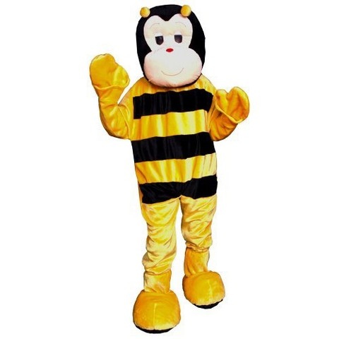 Adult Bumblebee Mascot Costume - One Size Fits Most