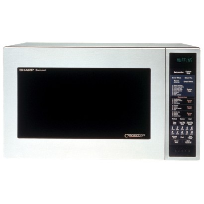 Sharp 900-Watt Convection Microwave - Stainless Steel (1.5 cu. ft.)