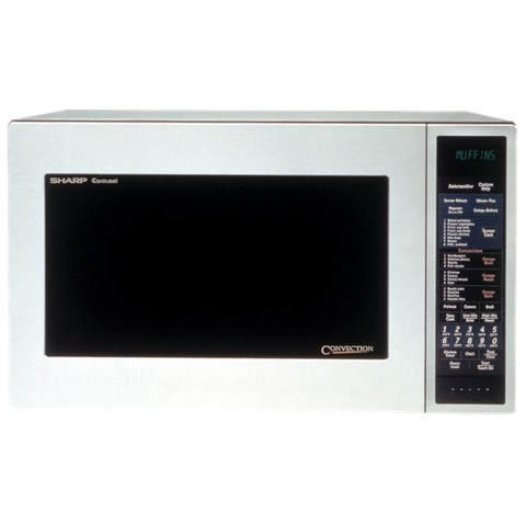 Sharp 900-Watt Convection Microwave Oven (1.5 cu. ft.)